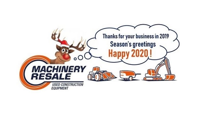 Machinery Resale will be closed from December 25 until January 1. - Blog