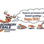 Machinery Resale will be closed from December 25 until January 1. - Blog 1